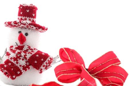 Christmas Snowman photo