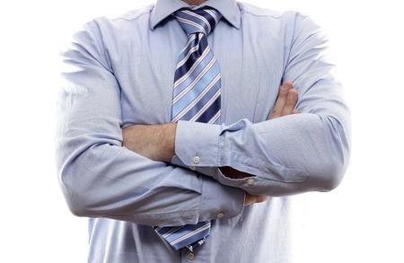 corporal language: El lenguaje corporal. Los brazos cruzados sobre el pecho
