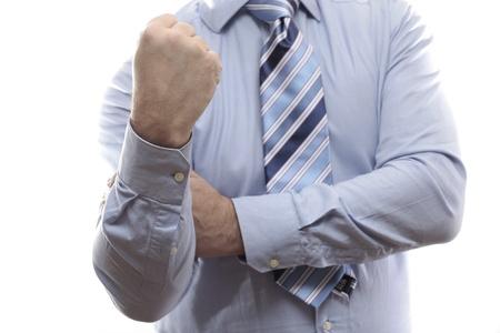 'body language': Body language. Refusal Stock Photo