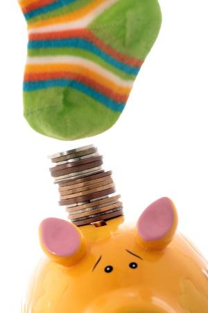Savings in the bank or hide in the socks