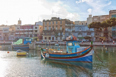 fishingboats: The Luzzu is a famous maltese boat