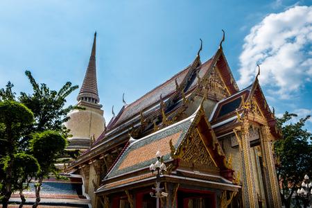 maha: Wat ratchabophit sathit maha simaram,Bangkok,Thailand. Stock Photo