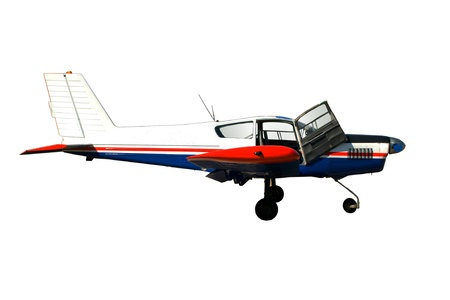 The small passenger plane for small transportations Stock Photo - 13422884
