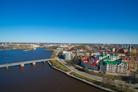 Best townscape of Vyborg from a tower photo