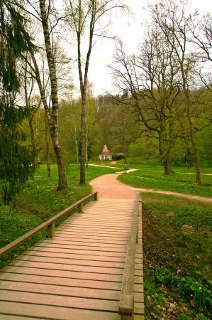 sigulda: Istorichsky parque en el centro de Sigulda