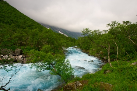 The nature and the beauty of Norway Stock Photo - 14610196