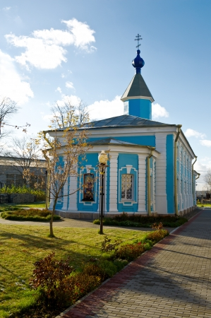 The old russian church  Shlisselburg Stock Photo - 16135265