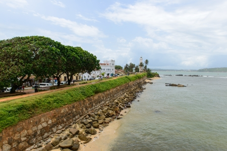 Sri Lanka, South Coast. city ​​of Galle photo