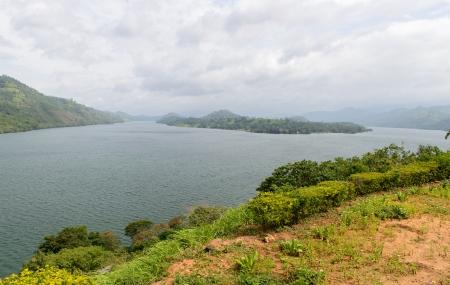 Sri Lanka. Different views of the lake. natural landscape