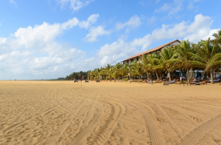 Sri Lanka  Negombo  The coastline of beautiful beaches Stock Photo