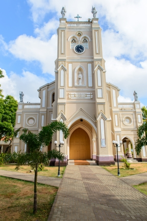 Sri Lanka. Negombo. Old Roman Catholic Cathedral Stock Photo