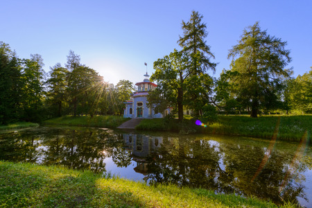 Beautiful Catherine Park. Pushkin. Russia