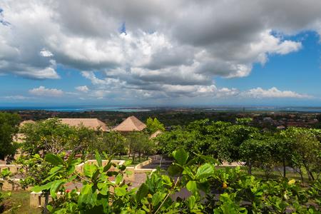 Nature view of Kuta, Bali, Indonesia.