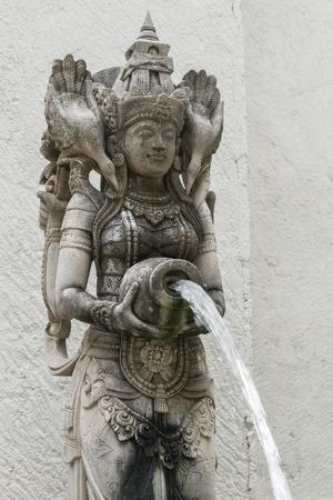The Indonesian statue on island Bali. Indonesia
