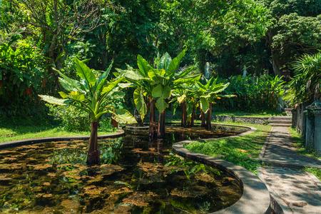 Tirtaganga water palace at Bali island in Indonesia