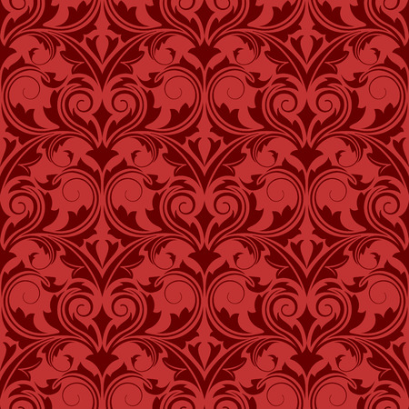 Red seamless wallpaper Stock Vector - 4664265
