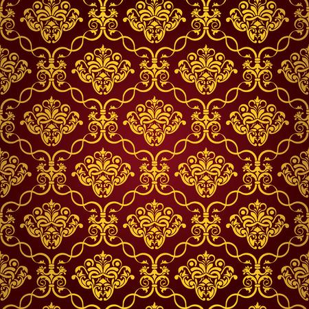 Seamless wallpaper Stock Vector - 5028856