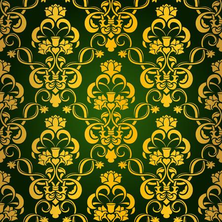 Seamless wallpaper Stock Vector - 5028855
