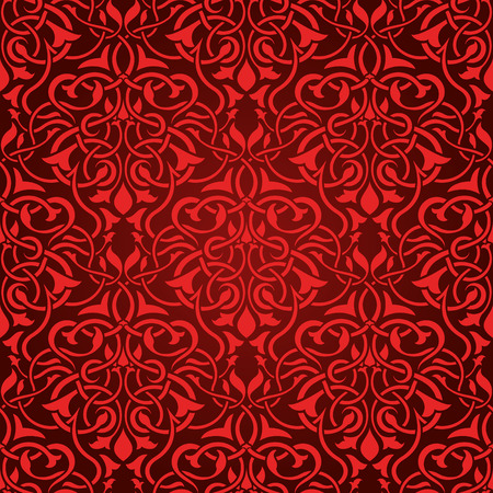 Red seamless wallpaper Stock Vector - 5044483