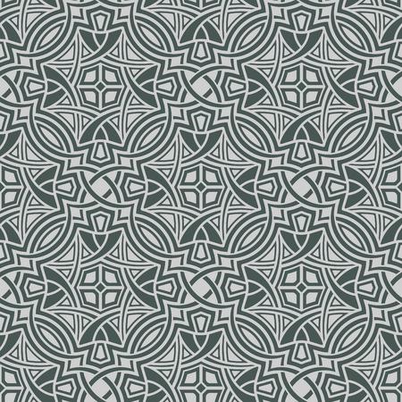 Grey seamless wallpaper Stock Vector - 5097521