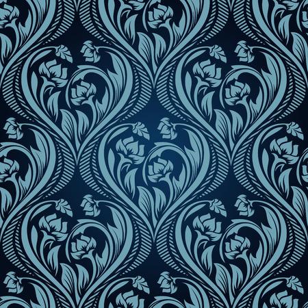 Seamless wallpaper Stock Vector - 5328832