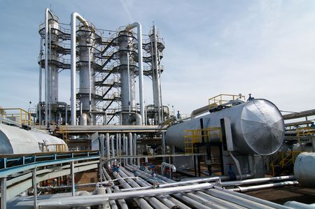 cloud industry: gas processing industry