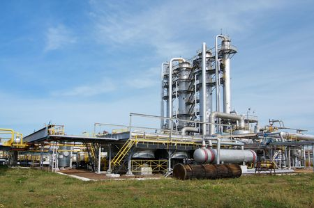 gas processing industry Stock Photo - 5462349