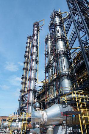 refiner�a de petr�leo: industria de procesamiento de gas