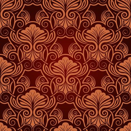 Red seamless wallpaper Stock Vector - 5665592