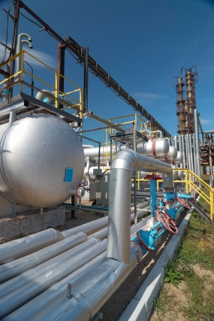 gas processing industry Stock Photo - 6338168