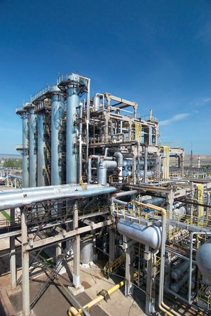 gas processing industry Stock Photo - 6338169
