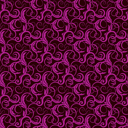 venetian victorian: Violet seamless wallpaper pattern