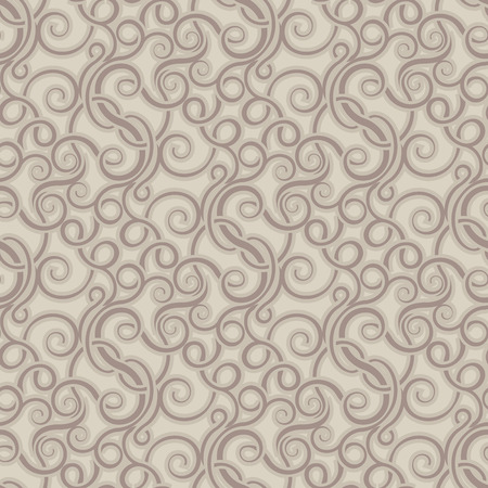 Brown seamless wallpaper pattern Stock Vector - 8143969