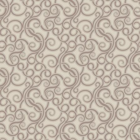 victorian wallpaper: Brown seamless wallpaper pattern