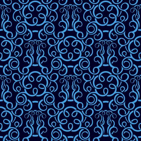 leafs: Pattern di sfondo trasparente blu