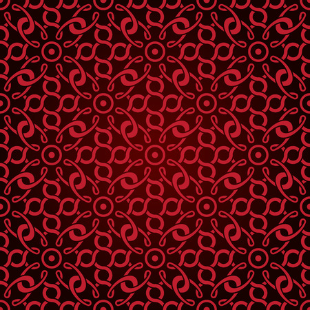 Red seamless wallpaper pattern Stock Vector - 8143979