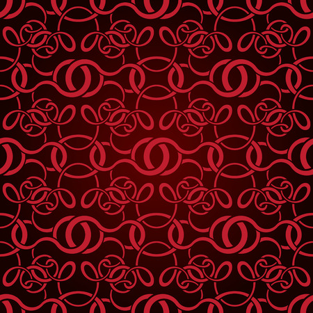 Red seamless wallpaper pattern