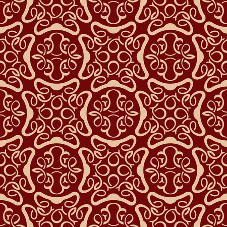 Red seamless wallpaper pattern  Stock Vector - 8684287
