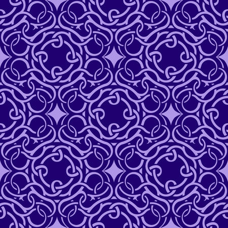 Violet seamless wallpaper pattern Stock Vector - 8802441