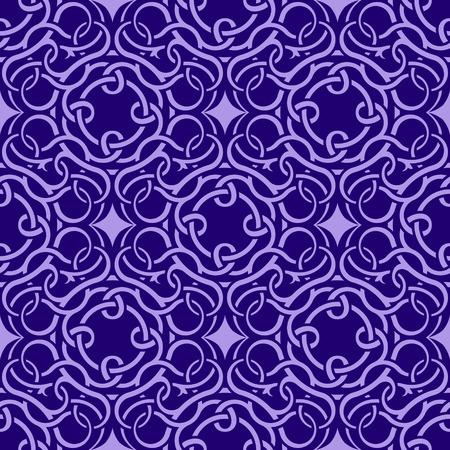 western pattern: Violet seamless wallpaper pattern