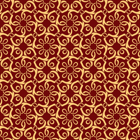 Red seamless wallpaper pattern Stock Vector - 9093676