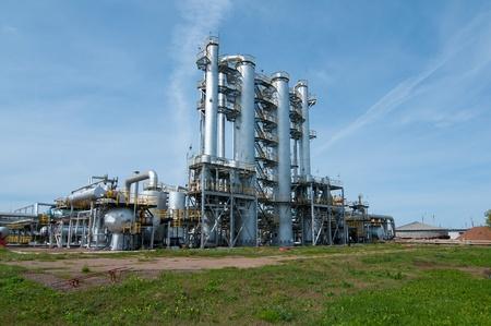 ratificaci�n: Columna de ratificaci�n. industria de gas y petr�leo