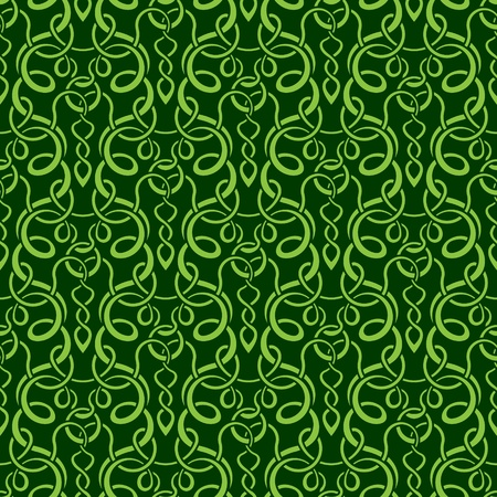 drapery: green seamless wallpaper pattern