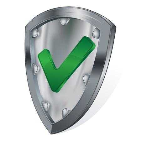 shield security concept  Stock Vector - 9933553