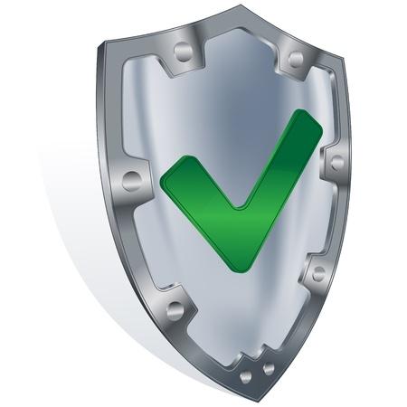 shield security concept  Vector