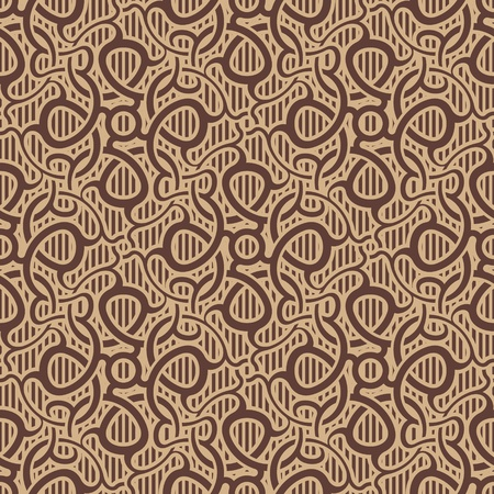 Brown Seamless Wallpaper Pattern Royalty Free Cliparts Vectors And