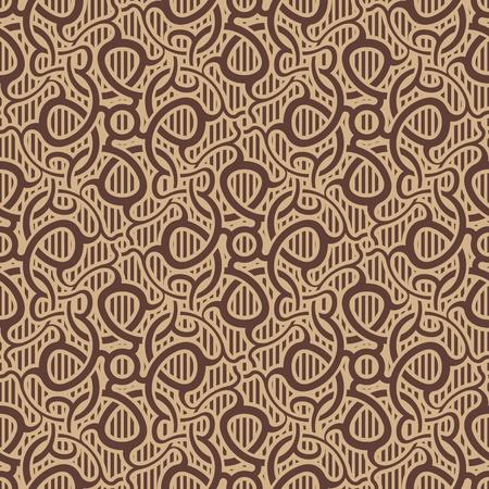 tiled: Brown seamless wallpaper pattern