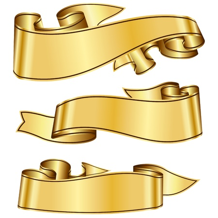 classic style: Gold ribbon collection