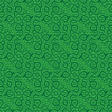 green leafs: green seamless wallpaper pattern