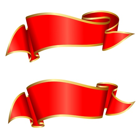 ribbon red: Red ribbon collection